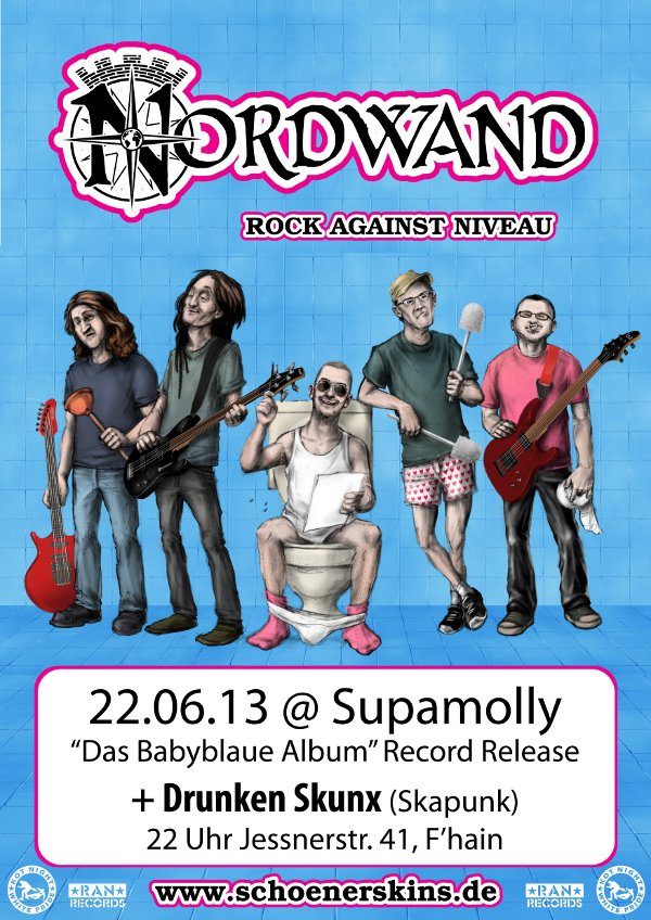 Nordwand Record Release in der Supamolly!