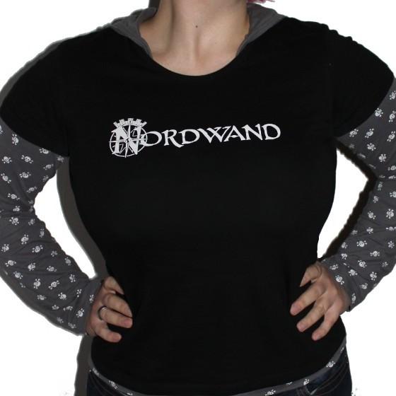 """Girlie-Shirt """"Nordwand"""" Schwarz"""