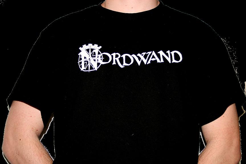 """T-Shirt """"Nordwand"""" Logo Schwarz"""