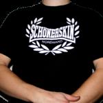 """T-Shirt """"Schöner Skin"""" Schwarz"""