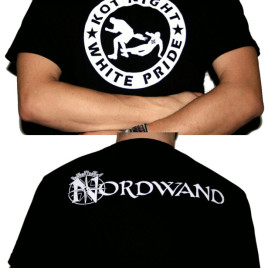 T-Shirt Kot Night White Pride