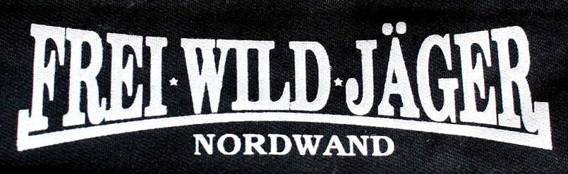 """Aufnäher """"FreiWildJäger"""" Nordwand"""