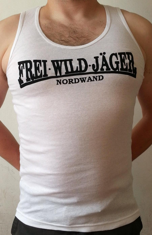 FreiWildJäger U-Hemd ohne Hirsch weiß