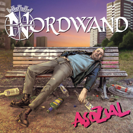 Asozial EP auf Vinyl