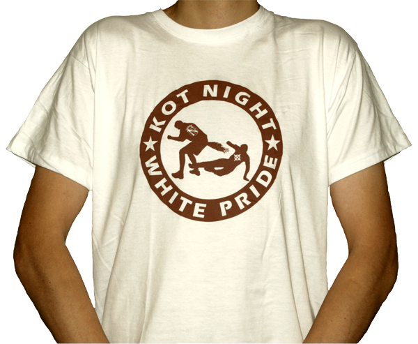 Kot Night White Pride T-Shirt weiß