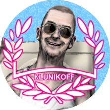 "Button ""Klunikoff"""