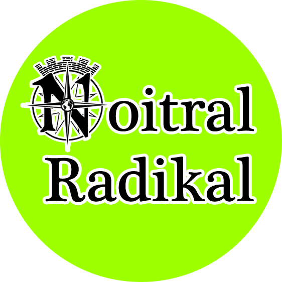 "Button ""Noitral Radikal"" kotzgrün"